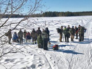 Fångsjön Åsviken 18-03-29