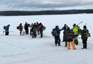 Fångsjön Vågdalen 18-03-18